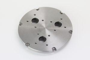 機械部品(製缶機械取り付けパーツ) SS400 旋盤